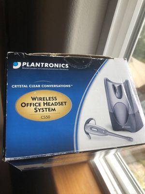 PLANTRONICS Wireless Headset / (Model # CS50 ) for Sale in Lynnwood, WA
