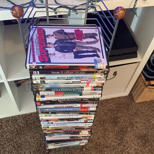 Over 20 Movies And DVD Stand for Sale in Glendale, AZ