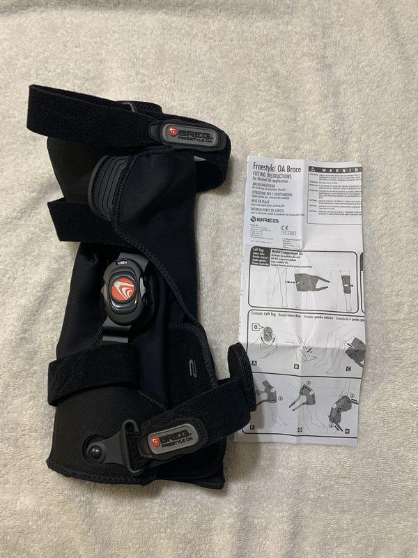 Right Leg BREG FREESTYLE OA Medial LEG KNEE BRACE~New out of Packaging ~XL