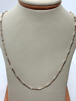 20in Solid Silver Chain (Parts Painted Yellow) for Sale in Santa Ana,  CA