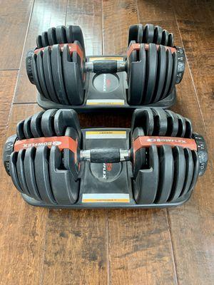 Bowflex SelectTech Dumbbells for Sale in Jurupa Valley, CA