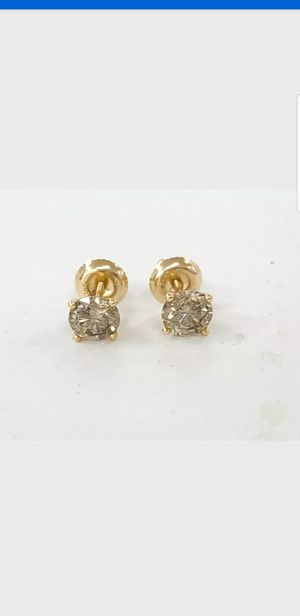 VALENTINES DAY 1.52 Ct Round Diamond Stud Earrings 14kt Gold J-K SI1 for Sale in Perris, CA