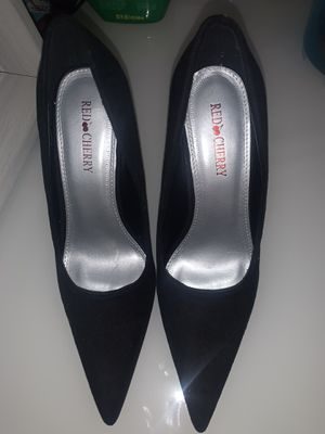 Red Cherry High heels size 6 1/2 for Sale in Silver Spring, MD