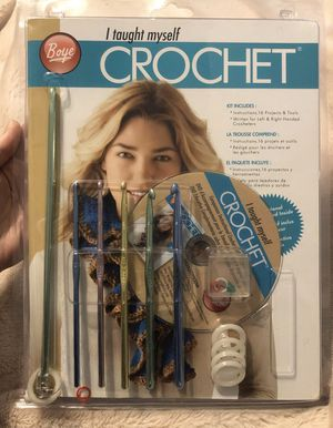 Crochet kit for Sale in Coopersburg, PA