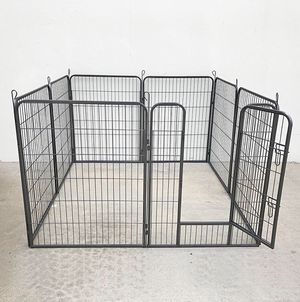 """New $100 Heavy Duty 40"""" Tall x 32"""" Wide x 8-Panel Pet Playpen Dog Crate Kennel Exercise Cage Fence Play Pen for Sale in South El Monte, CA"""