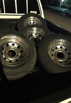 Jeep wheels 5 lug for Sale in Oceanside, CA