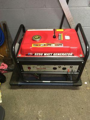 3250 w generator Like new for Sale in Jersey City, NJ
