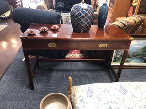 Military Campaign Style Console Table for Sale in Marietta, GA