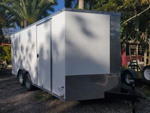 8.5x16 brand new trailer 2021 with warranty for Sale in Miami, FL