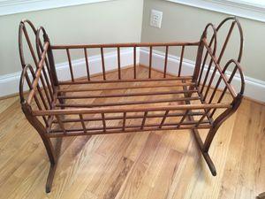 Antique bent wood cradle for Sale in Washington, DC
