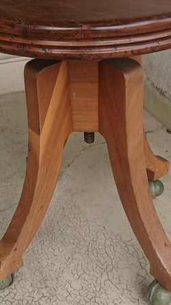 TONK Vintage Piano Organ Swivel Stool Solid Wood Antique for Sale in Santa Monica,  CA