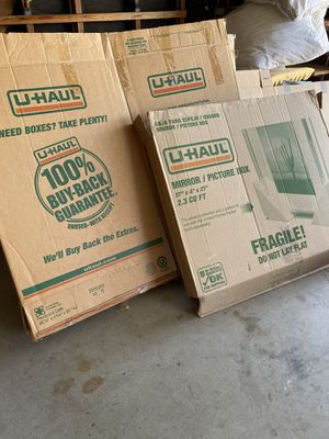 FREE MOVING BOXES for Sale in Bend, OR