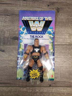 The Rock Action Figure Masters of the Universe NEW for Sale in Hayward, CA
