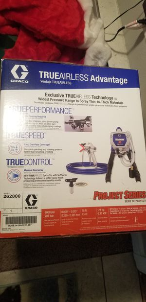 Brand new Graco Magnumx5 TrueAirless paint sprayer with 2 tips for Sale in Stafford Township, NJ