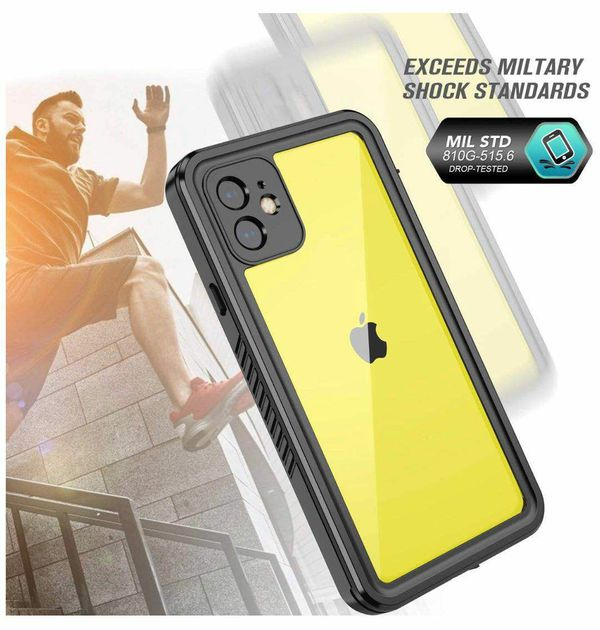 KUMEDA Waterproof for iPhone 11 Case,Built-in Screen Protector IP68 Certified Heavy Duty Protection