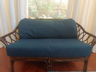 Rattan Settee Loveseat for Sale in Palm Harbor,  FL