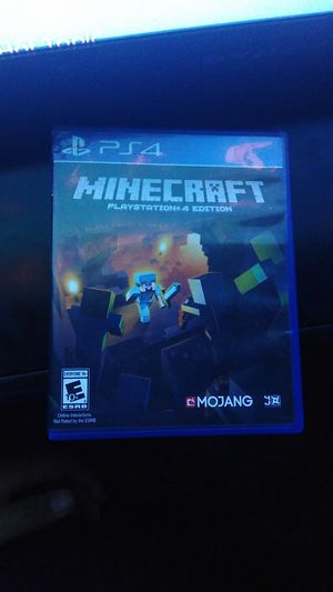 Minecraft Ps4 for Sale in Lemon Grove, CA