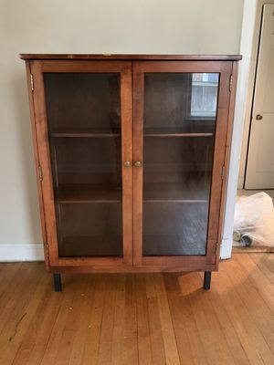 Cabinets with glass doors for Sale in Arlington, VA