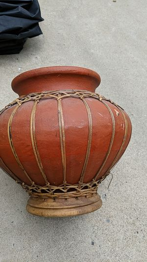 Flower pot - brown for Sale in McLean, VA