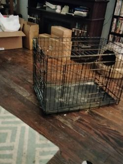 It's A 2 By2 By3 Kong Metal Dog cage With tray for Sale in St. Louis,  MO