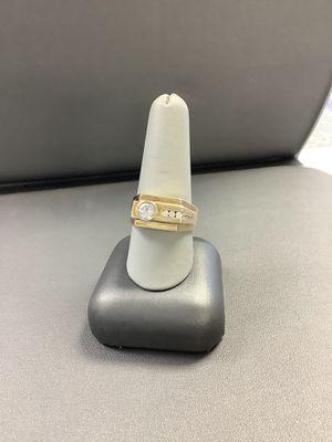 14K yellow gold fancy mens ring for Sale in Littleton, CO