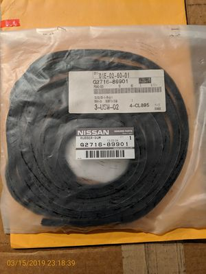 Nissan RUBBER DUM SEAL for Sale in Downey, CA