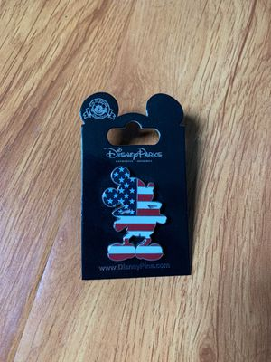 Disney Pin - Mickey Mouse USA Flag for Sale in San Dimas, CA