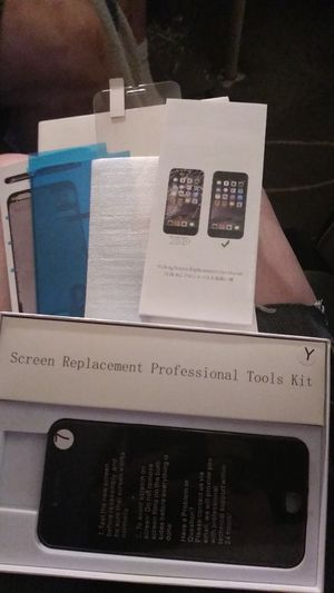 Iphone 7 screen replacement kit only $.35 for Sale in Portland, OR