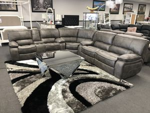 3PC 4 Recliners Micro Fiber Sofa Sectional on SALE 🔥 for Sale in Fresno, CA