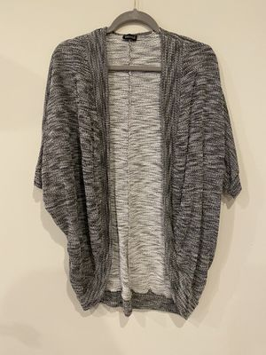 Love culture short sleeve grey shawl batwing cardigan for Sale in Silver Spring, MD
