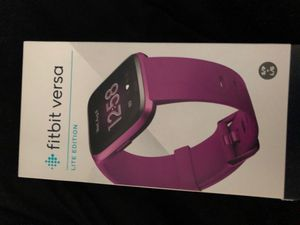 Fitbit versa light edition for Sale in Baltimore, MD