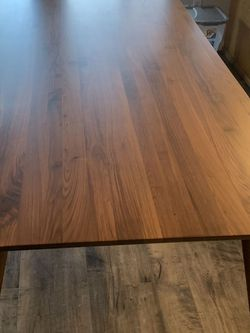 Solid Wood Mid- Century Modern Table - Article Furniture for Sale in San Diego,  CA