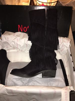 New Fringe Suede Boots for Sale in Englewood, CO