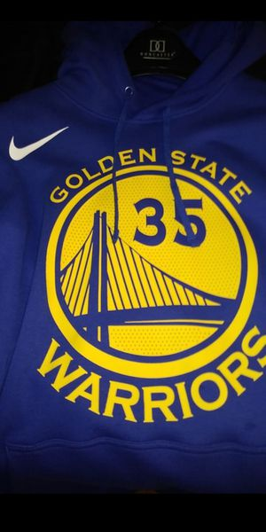 Kevin Durant Warriors Nike jersey hoodie xl for Sale in Ravenna, OH
