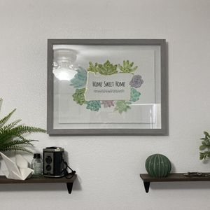 "Oregon ""Home Sweet Home"" Succulent Wall Art for Sale in Damascus, OR"