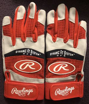 Rawlings Dynamic Fit System (DFS) Baseball Batting Gloves for Sale in Hacienda Heights, CA