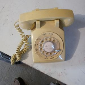 Telephone Rotory Yellow Works for Sale in Castro Valley, CA