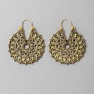 Beautiful Bohemian Gold Color Hoop Earring For Her for Sale in San Diego, CA