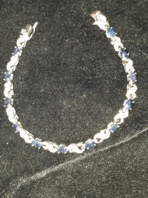 A beautiful bracelet 7.2 carat Sapphires and diamonds for Sale in Morrison, CO