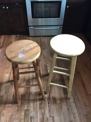 Wooden bar stools for Sale in Tampa, FL