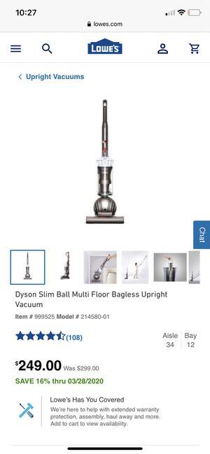 Dyson Slim Ball New Unopened box for Sale in Atlanta, GA