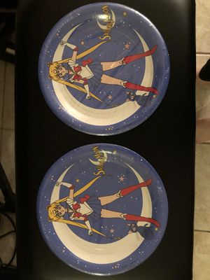 Sailor Moon RARE paper plates from the 1990s! for Sale in Pembroke Pines, FL