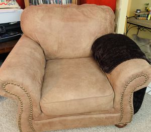 Sofa with matching chair for Sale in Midland, TX