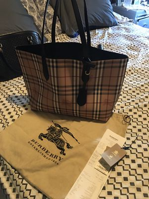 Burberry tote 👜 large bag for Sale in E RNCHO DMNGZ, CA