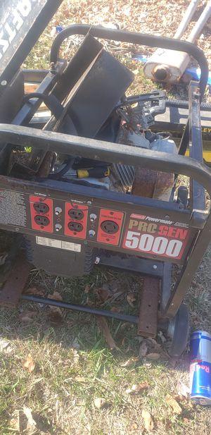Pro gen 5000watt generator needs a carburetor for Sale in Uxbridge, MA