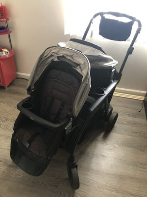 Graco modes duo stroller . Double stroller for Sale in Los Angeles, CA