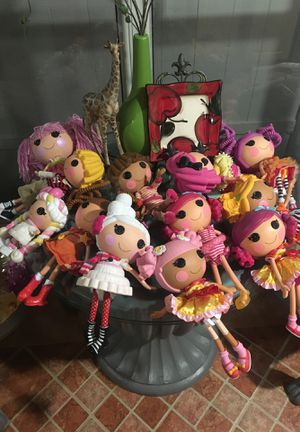 12 lalaloopsy dolls for Sale in TWN N CNTRY, FL