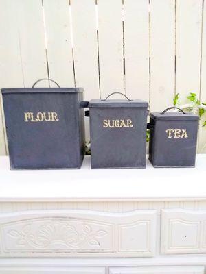 Canisters Flour, Sugar & Tea for Sale in Santa Fe Springs, CA
