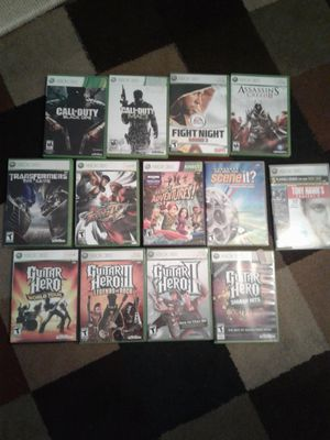 XBOX 360 GAMES for Sale in Visalia, CA
