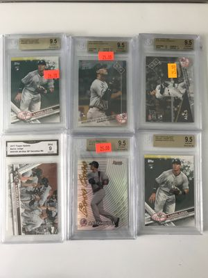 Baseball Cards, Aaron Judge, Rookie, refractor, SP lot for Sale for sale  Bingham Canyon, UT